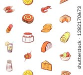 various images set. background... | Shutterstock .eps vector #1282170673