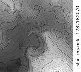 map line of topography. vector... | Shutterstock .eps vector #1282182070
