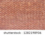 old red brick wall background... | Shutterstock . vector #1282198936