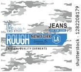 rough newyork  rough | Shutterstock .eps vector #1282208179