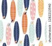 seamless pattern with... | Shutterstock .eps vector #1282213540
