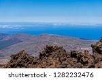 the lava fields of las canadas... | Shutterstock . vector #1282232476