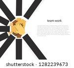 vector illustration. business... | Shutterstock .eps vector #1282239673