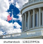 united states capital building... | Shutterstock . vector #1282259926