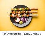 chicken hariyali kakab or malai ... | Shutterstock . vector #1282270639
