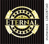 eternal gold shiny emblem | Shutterstock .eps vector #1282287160