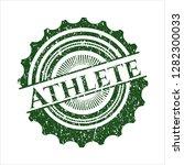 green athlete distress rubber... | Shutterstock .eps vector #1282300033