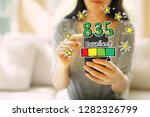 excellent credit score theme... | Shutterstock . vector #1282326799