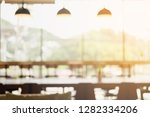 blurred photo of coffee shop  ... | Shutterstock . vector #1282334206