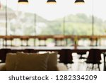 blurred photo of coffee shop  ... | Shutterstock . vector #1282334209