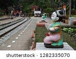 lamphun  thailand   december 31 ... | Shutterstock . vector #1282335070
