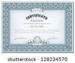 vector illustration of detailed ... | Shutterstock .eps vector #128234570