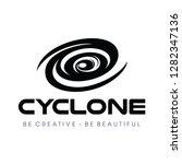 Cyclone  Tornado Logo Vector