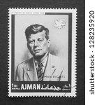 ajman        circa 1968 ... | Shutterstock . vector #128235920