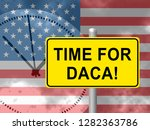 daca kids dreamer legislation... | Shutterstock . vector #1282363786