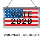 2020 election usa presidential... | Shutterstock . vector #1282363816