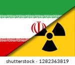 iran nuclear sign   deal... | Shutterstock . vector #1282363819