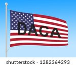 daca kids dreamer legislation... | Shutterstock . vector #1282364293