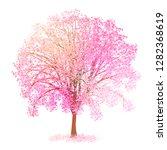 cherry blossom spring flower... | Shutterstock . vector #1282368619