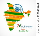 india republic day for 26... | Shutterstock .eps vector #1282413469