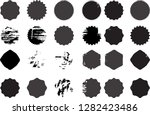grunge post stamps collection ... | Shutterstock .eps vector #1282423486