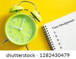 time management concept. alarm...   Shutterstock . vector #1282430479