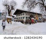 snowy reit im winkl  chiemgau ...   Shutterstock . vector #1282434190