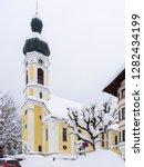 parish church of st. pankratius ...   Shutterstock . vector #1282434199
