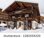 old forge in snowy reit im...   Shutterstock . vector #1282434220