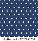 vector background. polka dot... | Shutterstock .eps vector #1282458280