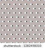 vector background. polka dot... | Shutterstock .eps vector #1282458310
