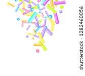 sprinkles grainy. sweet... | Shutterstock .eps vector #1282460056