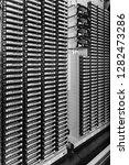 storage tapes in internet data... | Shutterstock . vector #1282473286