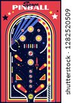 Space Pinball Vector Isolated...