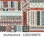 tribal vector ornament.... | Shutterstock .eps vector #1282558870