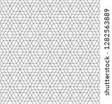 arabic geometric ornament based ... | Shutterstock .eps vector #1282563889