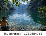 summer feeling in the bavarian... | Shutterstock . vector #1282584763