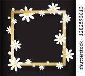 trendy design template . golden ... | Shutterstock .eps vector #1282593613