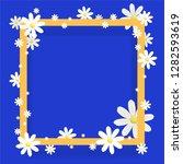 trendy design template . golden ... | Shutterstock .eps vector #1282593619