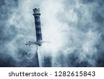 mysterious and magical photo of ... | Shutterstock . vector #1282615843