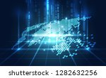 vector digital global... | Shutterstock .eps vector #1282632256