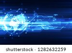 vector digital global... | Shutterstock .eps vector #1282632259