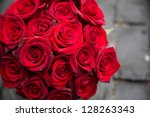 Stock photo red rose red roses 128263343