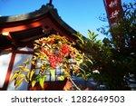 the takashi shrine in nagasaki  ... | Shutterstock . vector #1282649503