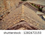 ancient tiled roof in forbidden ... | Shutterstock . vector #1282672153