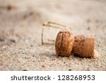 A Champagne Cork Left In The...