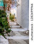 traditional cyclades... | Shutterstock . vector #1282699966