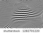 optical illusion lines... | Shutterstock .eps vector #1282701220