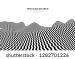 optical illusion lines... | Shutterstock .eps vector #1282701226