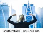 victory and success  strong... | Shutterstock . vector #1282731136